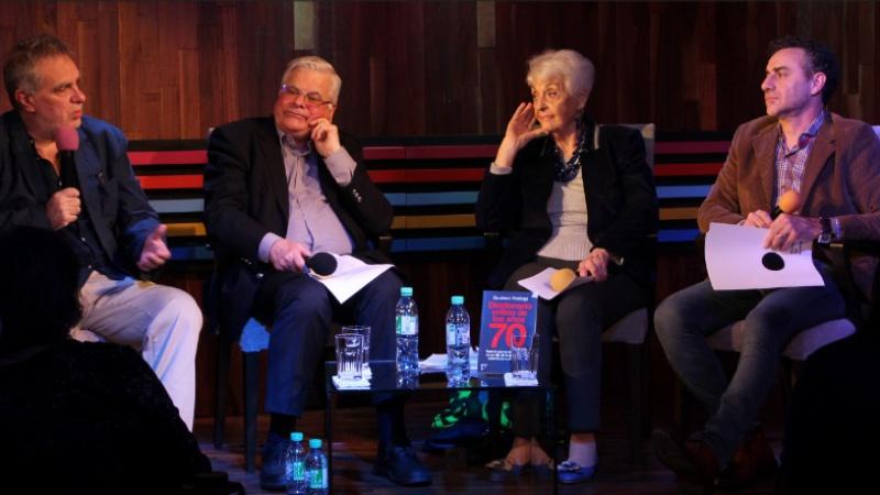 """Noriega presentó su """"Diccionario crítico de los años 70"""" en Margen del Mundo"""