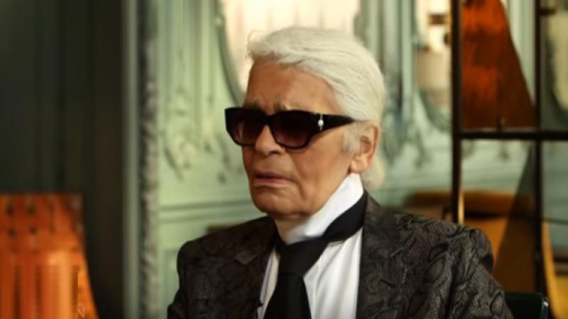 """Juricich: """"La pasión y la vida de Lagerfeld fueron la moda y el trabajo"""""""