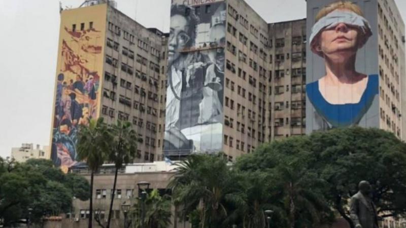 """Murales sobre AMIA: """"Nosotros somos lo que recordamos"""""""